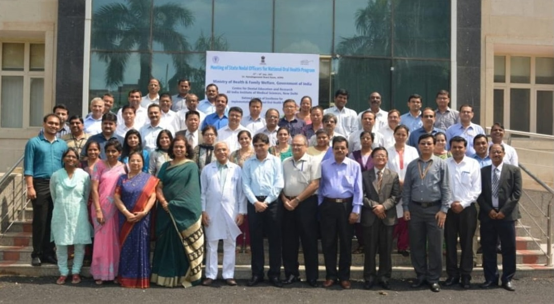 Meeting Of State Nodal Officers For National Oral Health Program - 2015